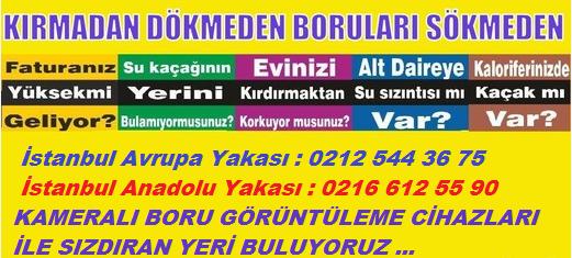 istanbul su kacagi